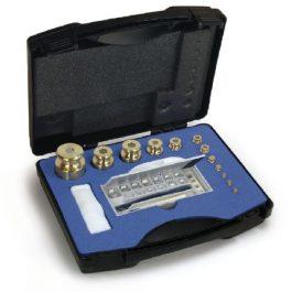 M1-Prüfgewichte im Koffer