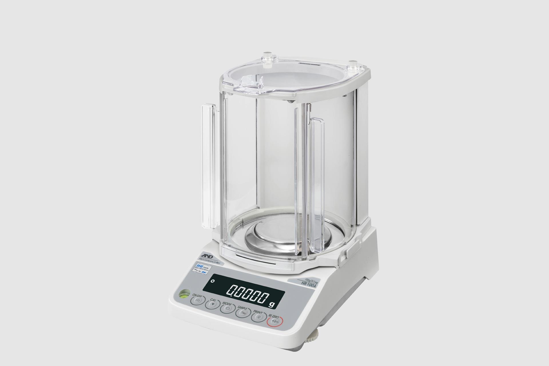 Analysenwaagen sind die empfindlichste Form von Laborwaagen mit einer Auflösung von üblicherweise 0,1mg