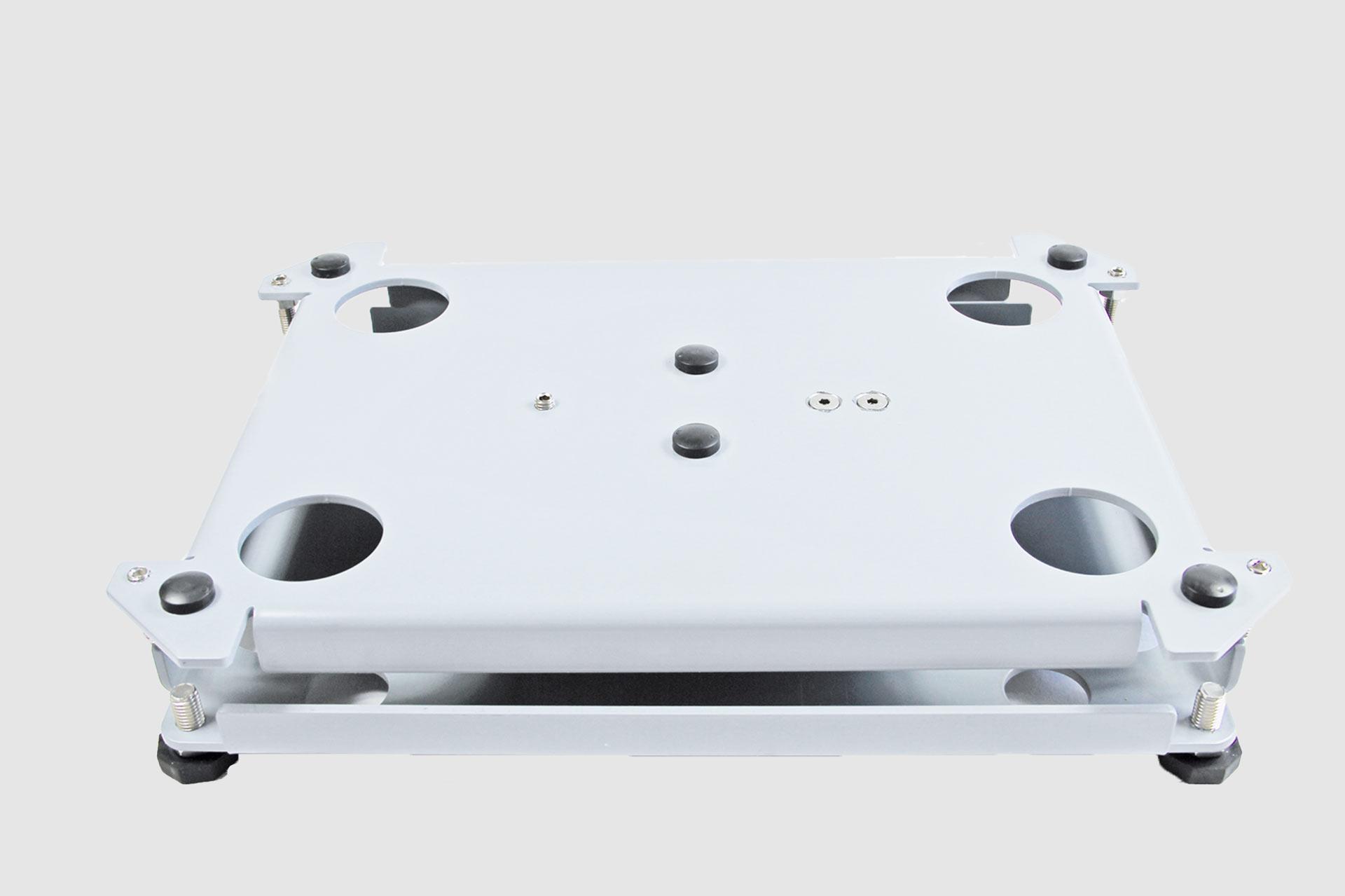 Edelstahl-Plattformwaage - flache Bauweise