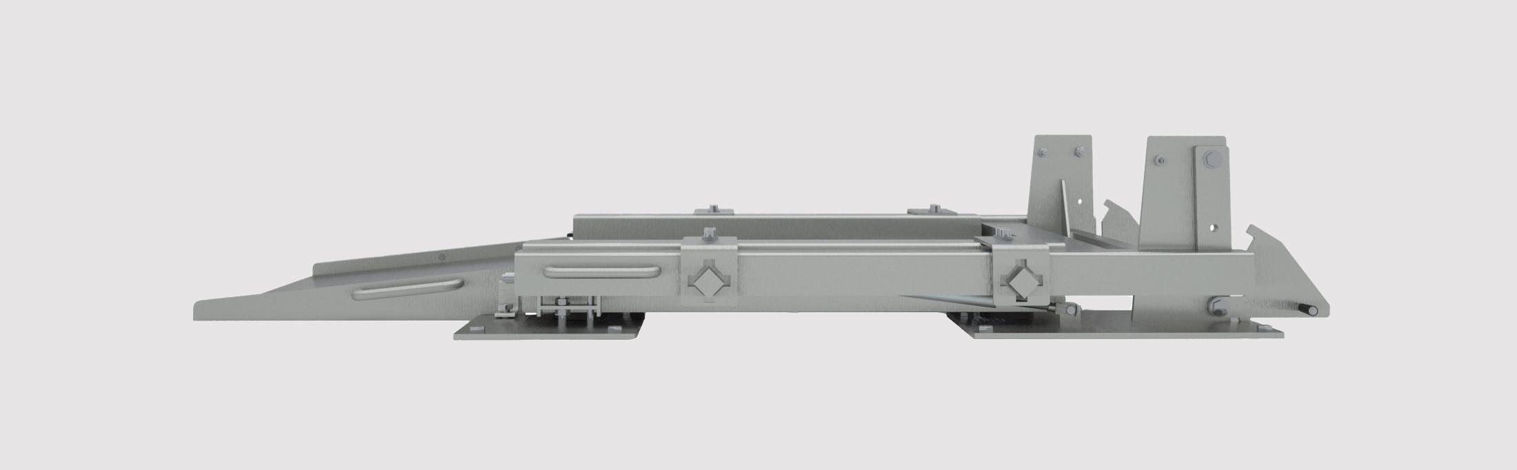 Bodenwaage extra flach - linke Seite
