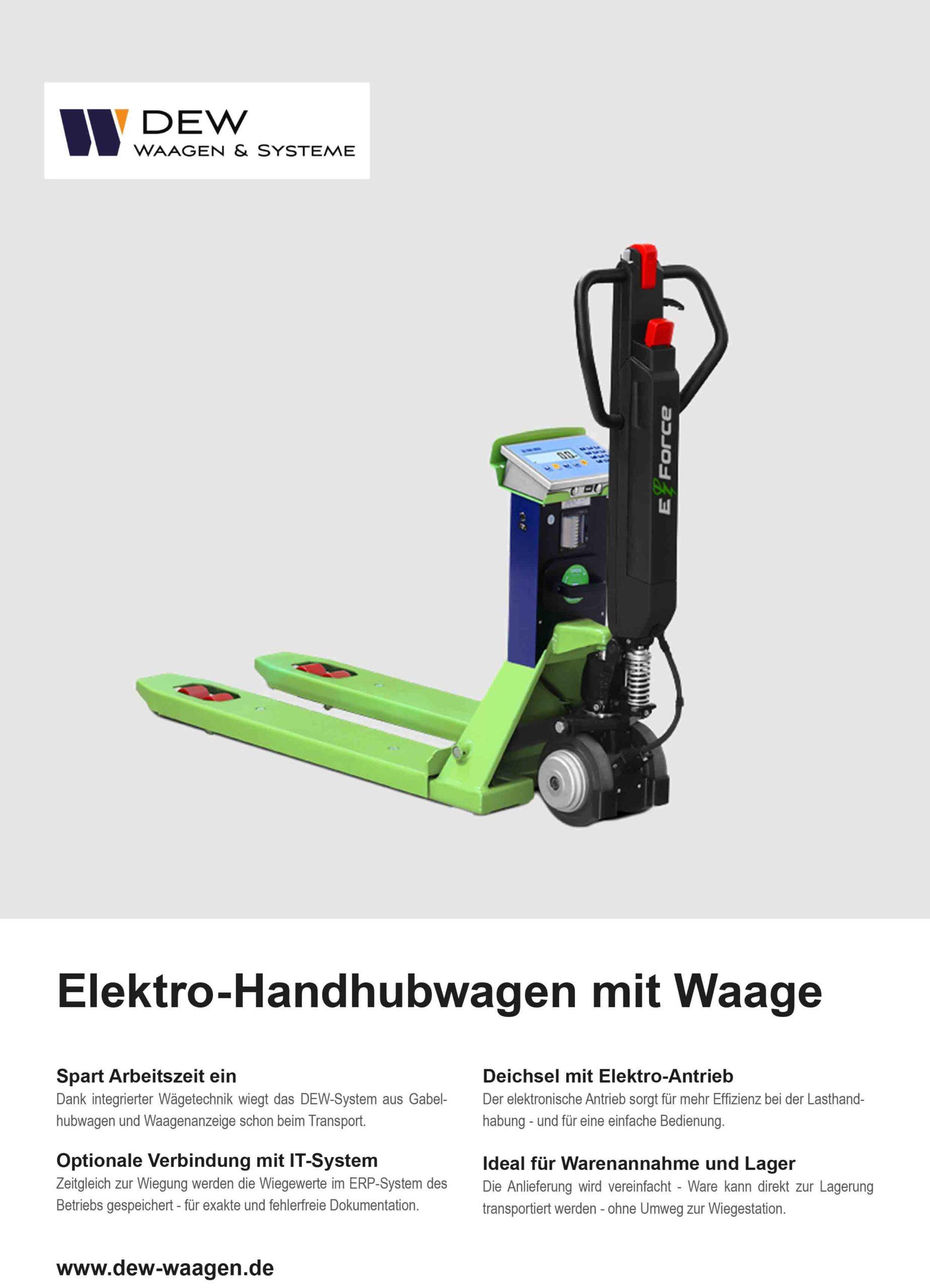Download Elektro-Handhubwaagen mit Waage